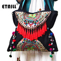Double Faced Chinese Ethnic Embroidery Bag Vintage Hmong Embroidered Famous Brand Wwomen Shoulder Bags Sac Besace Ethnique Brode