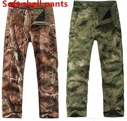 Prix pour Lurker Shark Soft Shell TAD Militaire Tactique pantalon Étanche extérieur Sport Armée camouflage thermique pantalon