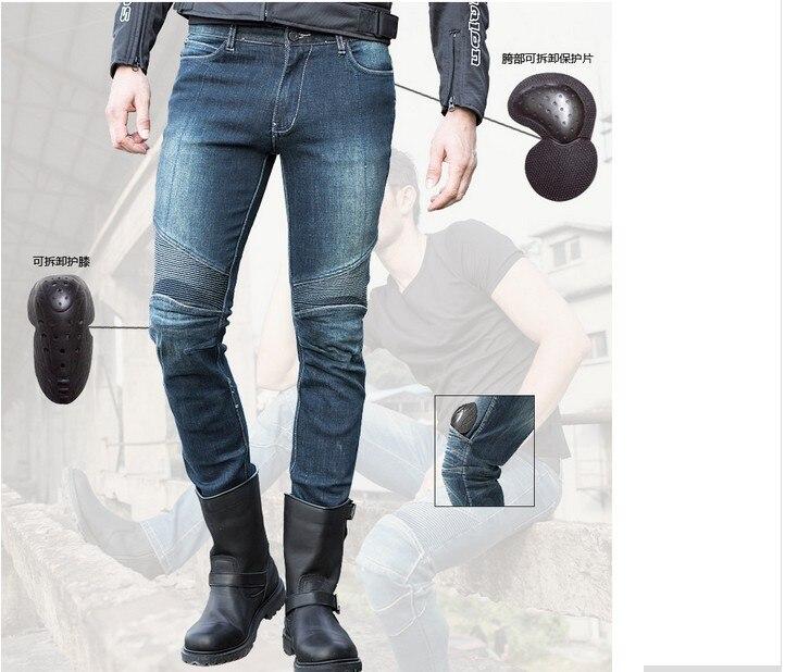Nouvelles offres spéciales uglyBROS slub-2 K tissu de prévention Cowboys monter jeans moto jeans moteur pantalon bleu