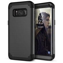 Чехол для телефона s для samsung Galaxy S8 Plus Note8 Чехол Прочный PC+ TPU 3 слоя Гибридный противоударный полный корпус защитный противоударный чехол