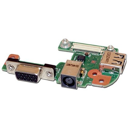 все цены на WZSM Laptop DC Power Jack USB VGA Board For Dell Inspiron 15R N5110 онлайн