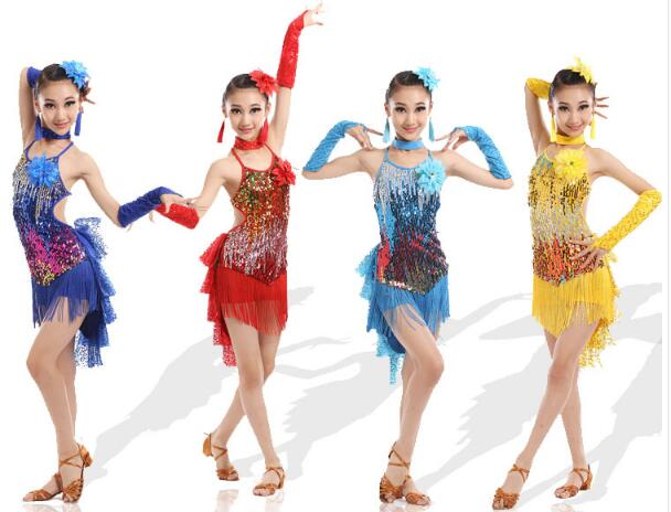 Latin dance dress women latin dress dancing clothes dancewear dress grils latin dance costumes stage performance clothing