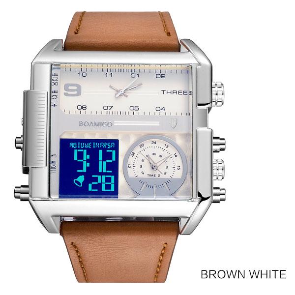new brown white