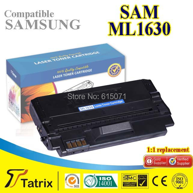 ФОТО New Compatible Laser Toner Cartridge For Samsung ML1630 Black Toner Cartridge ML1630 for Samsung with Chip