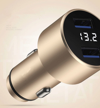 3.1A Dual USB Car Charger Quick Charge 2.0 3.0 Mobile Phone Car-charger adapter for iPhone 7 Samsung Xiaomi Car Phone Charger
