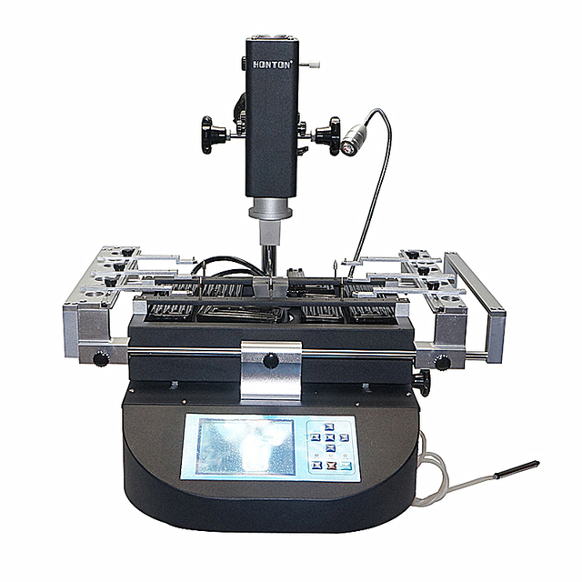 CE certificate HONTON R490 infrared hot air BGA rework station soldering machine 3 zones heating