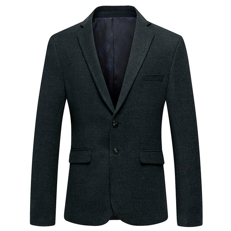 2019 Spring Fashion Black Formal Blazer Men Casual Slim Fit Coat Blazer Classic Business Jacket Blazer Free Shipping Men Coat