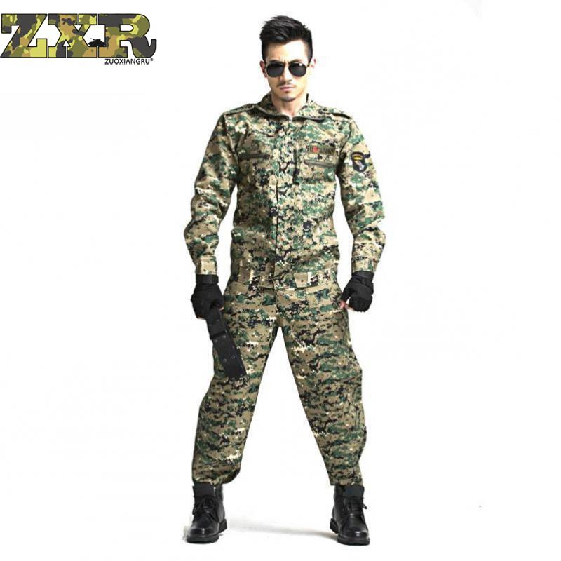 Paintball Tactical Camouflage Military Uniform Camouflage Combat Suit Military Clothing For Hunter And Fishing Shirt And Pants Military