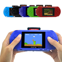 Portable 3 Inch 16 Bit PXP3 Slim Station Handheld Game Video Players With 2pcs Game Card