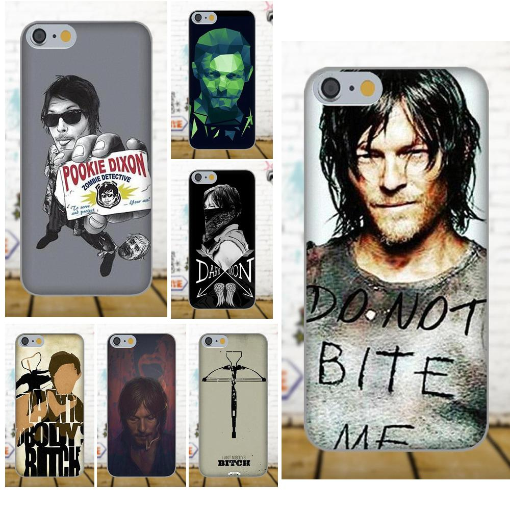 On Sale For Xiaomi Redmi 5 4A 3 3S Pro Mi4 Mi4i Mi5 Mi5S Mi Max Mix 2 Note 3 4 Plus The Walking Dead Norman Reedus Daryl Dixon