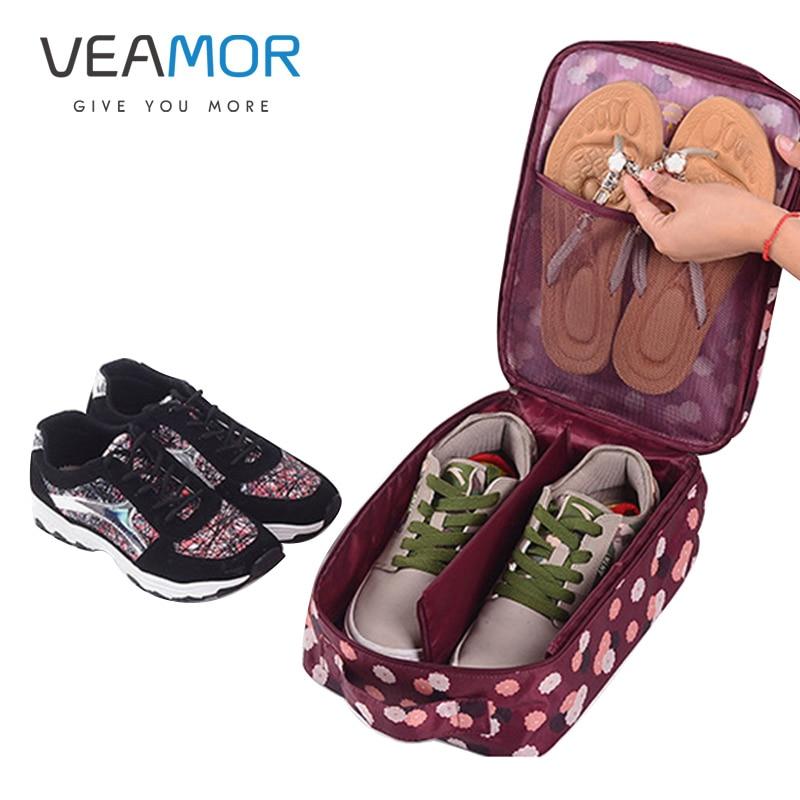 VEAMOR Griff Tragbare Wasserdichte Schuhe Aufbewahrungstasche - Home Storage und Organisation - Foto 1