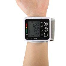 Professional Digital Automatic Wrist Blood Pressure Monitor Meter Cuff Blood Pressure Measurement Health Care Sphygmomanometer