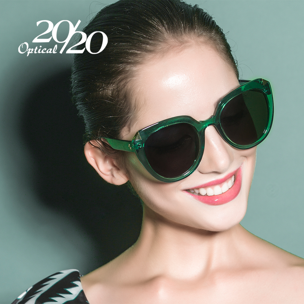 20/20 Brand Vintage Polarized Sun Glasses for Women Classic Sexy Sunglasses Designer Mirror Eyewear Oculos 58066