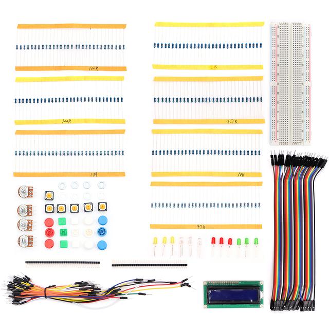 Starter Kit básico para UNO R3 Mega2560 Nano Mega328