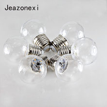 5X ampoule E27 B22 led bulb DC 12V 24V AC 110V 220V 0.5W 1W 2835 G45 colorful Decorative for bar home dropshipping jeazonexi(China)