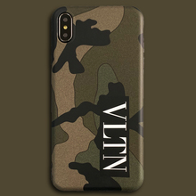 Italy VLTN Phone Case iPhone 6 7 8 Plus X XR XS Max