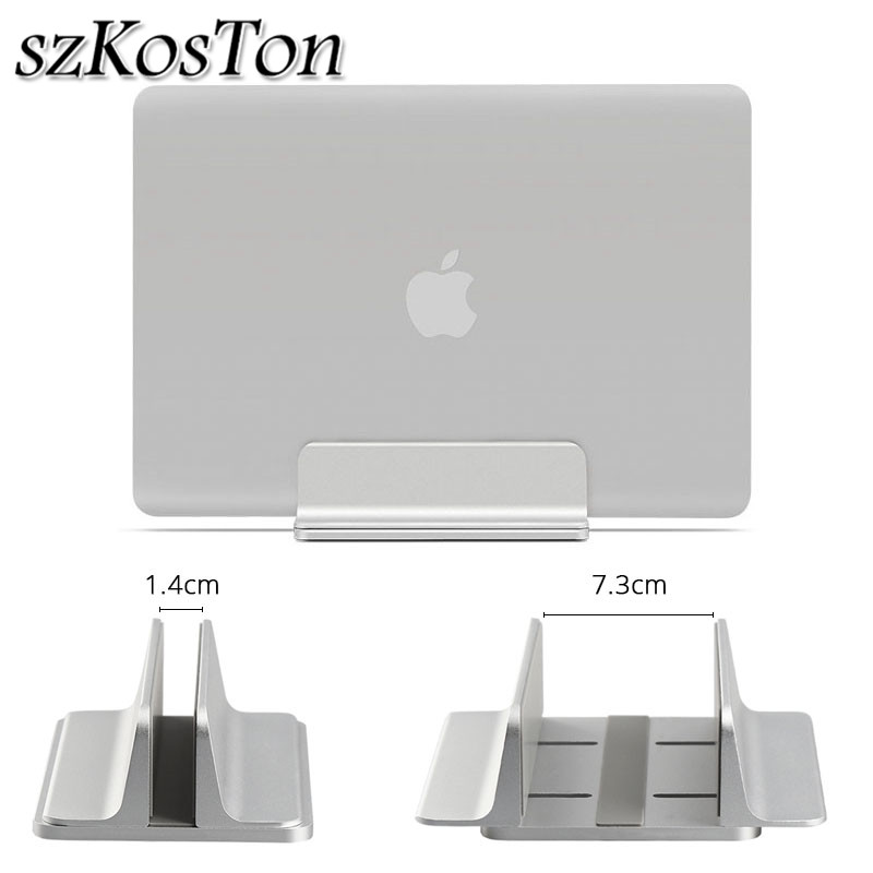 Aluminium Adjustable Vertical Laptop Stand Holder Notebook Desktop Holder Bracket For Apple MacBook Pro/Air Support Mount Ereced все цены