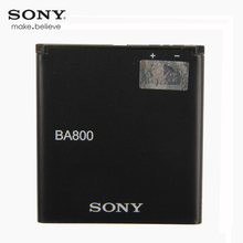 Original Sony High Capacity Phone Battery For SONY Xperia S V LT25i LT26i 1700mAh BA800