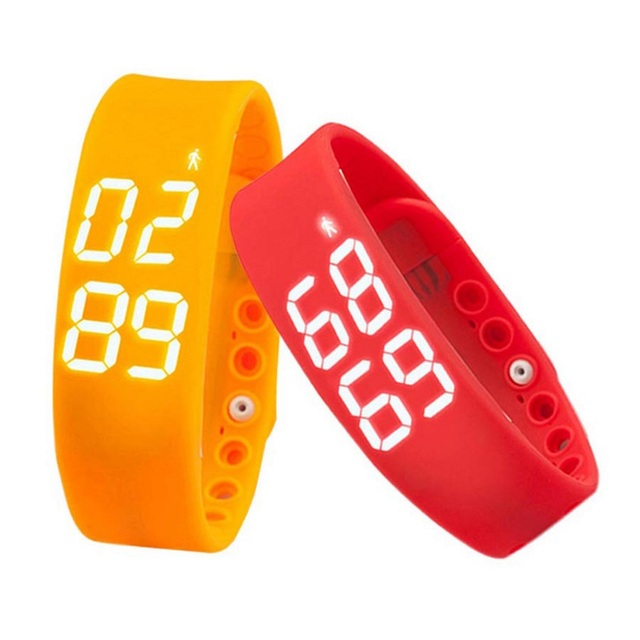 Hot Inteligente Pulsera W2 Gimnasio Health Tracker Banda Pulsera Smartband Pulso Sport Reloj Electrónico de Temperatura Inteligente