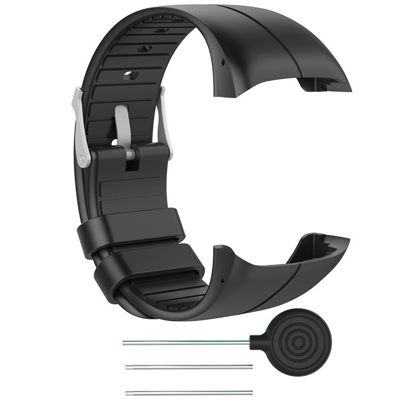 NEW Arrival 25CM Colorful Silicone Replacement Strap For Polar M400 Wrist Band Bracelet For Polar M430 Smart Watch With Tools