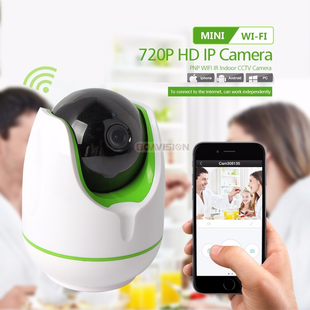 01 1.0MP Wifi IP Camera