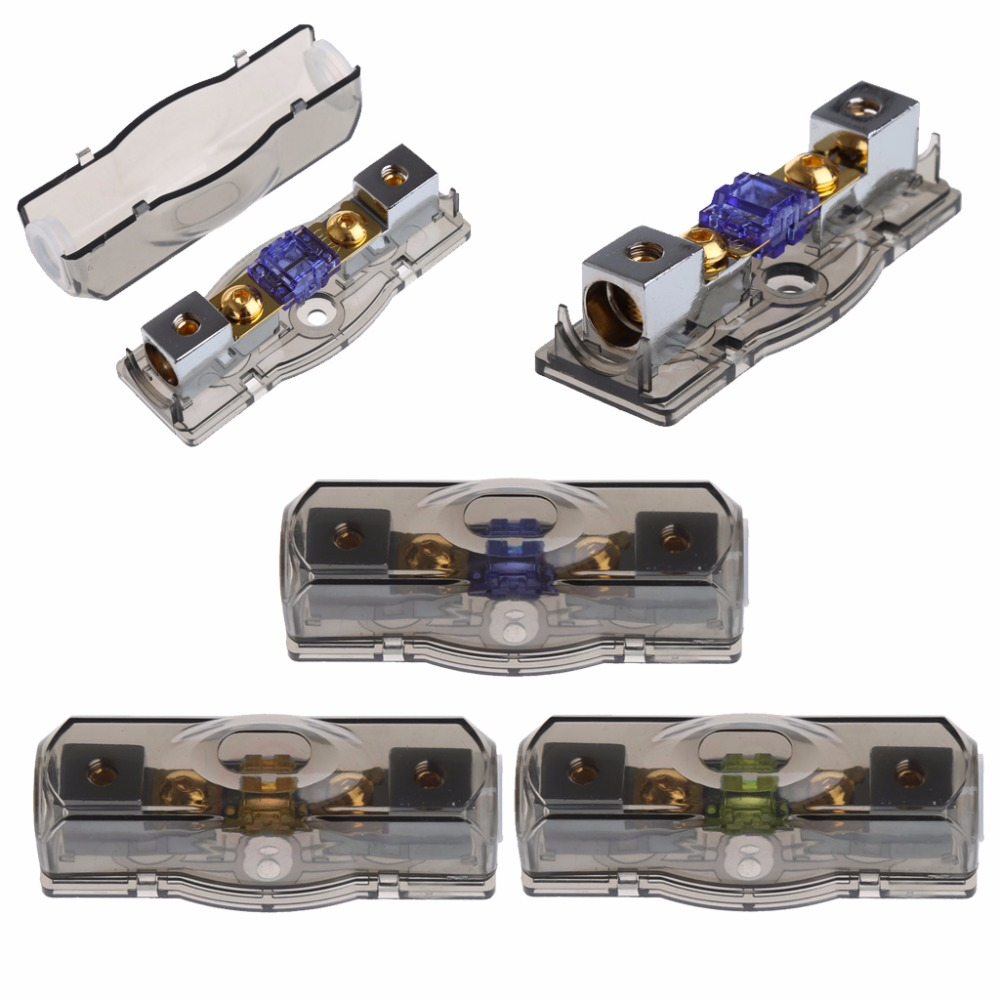 us $2 51 16% off 1pc block car fuse box holder stereo seats voltage exposure safe durable tool 100a new c45 in fuses from automobiles \u0026 motorcycles on Y Tubing Connector