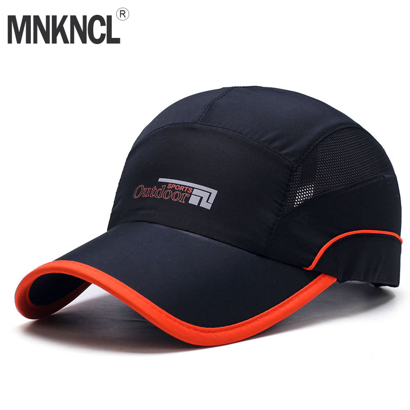 399e75266 MNKNCL 2018 New Quick Drying Lightweight Baseball Cap Outdoor Airy Mesh UV  Protection Sun Hats