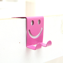 Free shipping Fashion Smiling face back type hook dook 5*6.5*5.5cm
