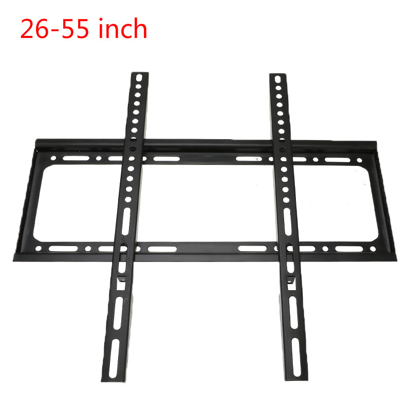 Universal TV Wall Mount Bracket Fixed Flat Panel TV Stand Holder Frame for 26-55 Inch Plasma TV HDTV LCD LED Monitor