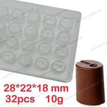 Polycarbonat schokoladenform, 32 tassen, 2015 NEUE spezielle design, moldes de policarbonato para schokolade, DIY schokolade machen werkzeuge