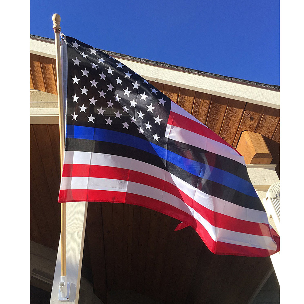 America S Police News: 2017 New Arrival Thin Blue Line American Flag Police Lives