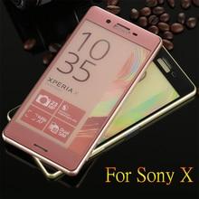 """Закаленное стекло для sony Xperia X 5,"""" Полное покрытие экрана телефона защитная пленка 3D полный изогнутый край XperiaX F5122 пленка"""
