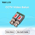 WAN LIN 10pcs(5Pairs)  CCTV Twisted BNC Passive Video Balun Transceiver COAX CAT5 Camera UTP Cable Coaxial Camera DVR