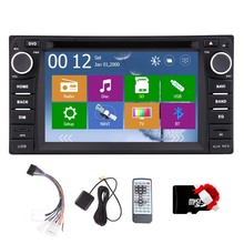 EQ 6.2″Radio MP5 Navigator Receiver USB System 3D Stereo GPS Car DVD CD RDS Autoradio FM Bluetooth For Toyota Corrolla EX Video