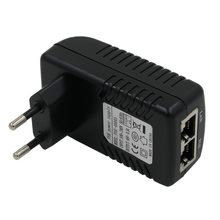 POE Injector 48V 0.5a for IP camera Ethernet CCTV POE adapter  POE pin 4/5(+),7/8(-) compatible with  IEEE802.3af