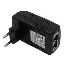 POE Инжектор 48 В 0.5a для ip-камера Ethernet CCTV POE POE адаптер контакт 4/5 (+), 7/8 (-) совместимость с IEEE802.3af