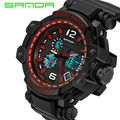 2016 new arrived man women casual promotion water resistant dual time Relojes militares for couple fashion digital sports watch