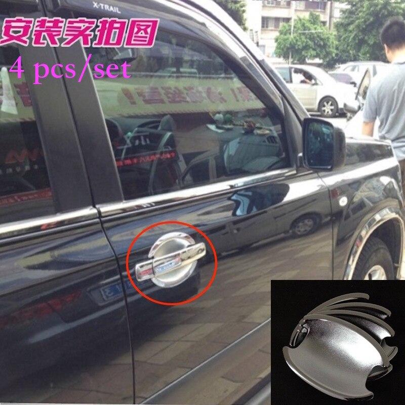 For 2008 2011 2012 2013 Nissan X Trail T31 Chrome Car Door