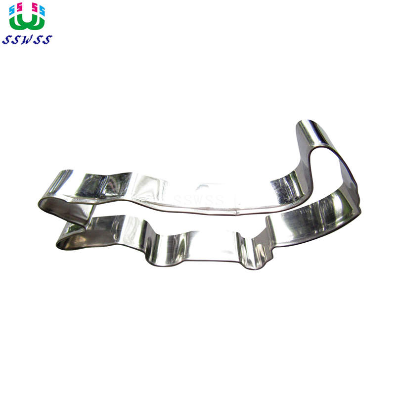 Stainless Steel Biscuits Cut Crocodile Biscuits Baking Mold Kitchen Utensils