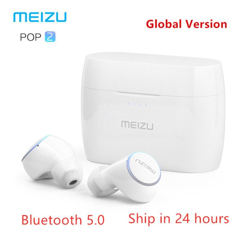 Original Meizu POP 2 TW50S Bluetooth 5 0 Earphone Upgraded Version TWS Wireless Sports Headset POP2