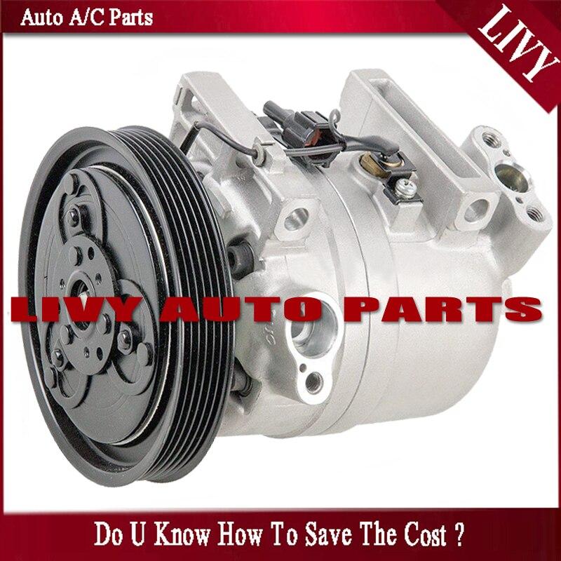 DKV14C A/C AC compresseur pour voiture Nissan Frontier Xterra 3.3L 1999-2004 926005S700 92600-5S700