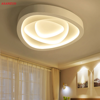 Creative triangle ceiling lights art LED ceiling lamp for Sitting room bedroom study corridor balcony with remote control