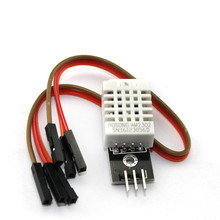 ФОТО free shipping 1pcs dht22 digital temperature and humidity sensor am2302 module+pcb with cable for arduino