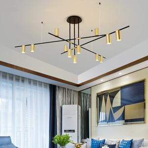 Image 3 - Scandinavian Post modern LED Ceiling Chandeliers Lighting Creative Designer Hanging Lamp Dining Room Living Room Coffee Lustre