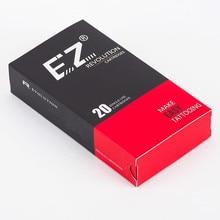 EZ New Revolution Tattoo Needle Cartridges Regular Long Taper #12 Curved Magnum for Cartridge Machine 20pcs/box