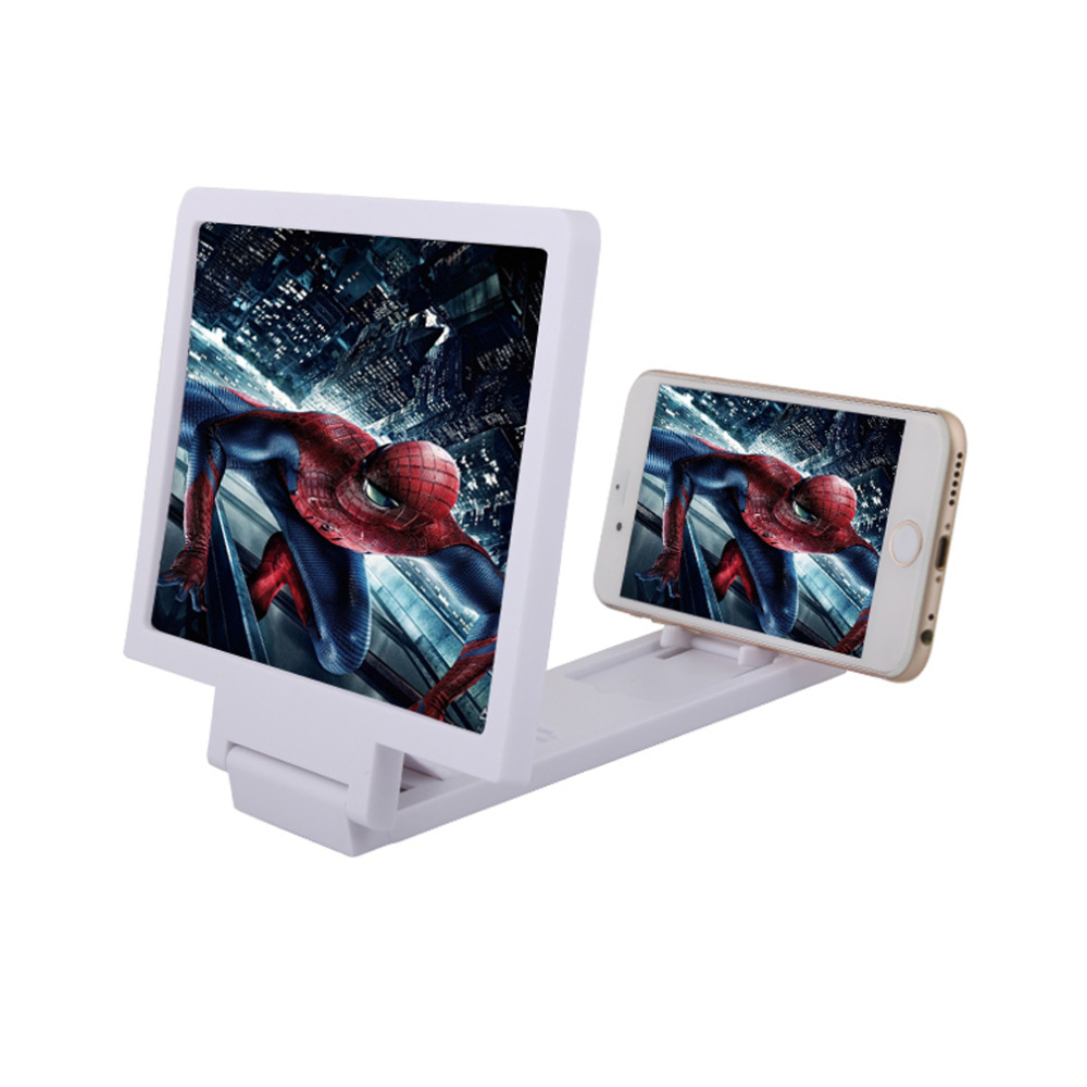 New Portable 3D Screen Magnifier for Cell <font><b>Phone</b></font> xiaomi samsung lenovel tablet Video Screen Holder Folding Enlarged <font><b>Expander</b></font>