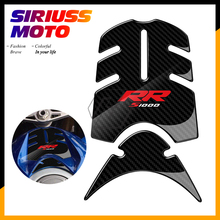 3D Motorcycle Front Gas Fuel Tank Cover Protector Pad Case for BMW S1000RR 2015-2017