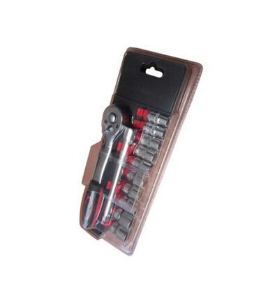 Winmax 12pc 3/8 Drive 6pt Ratchet Wrench Socket Set Extension Bar Repair Tool WT05232