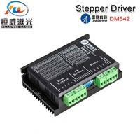 DM542 Leadshine 2 Phase Stepper Motor Driver 20 50VAC 1.0 4.2A For Co2 Laser Cutting Engraving Machines Wholesale Original