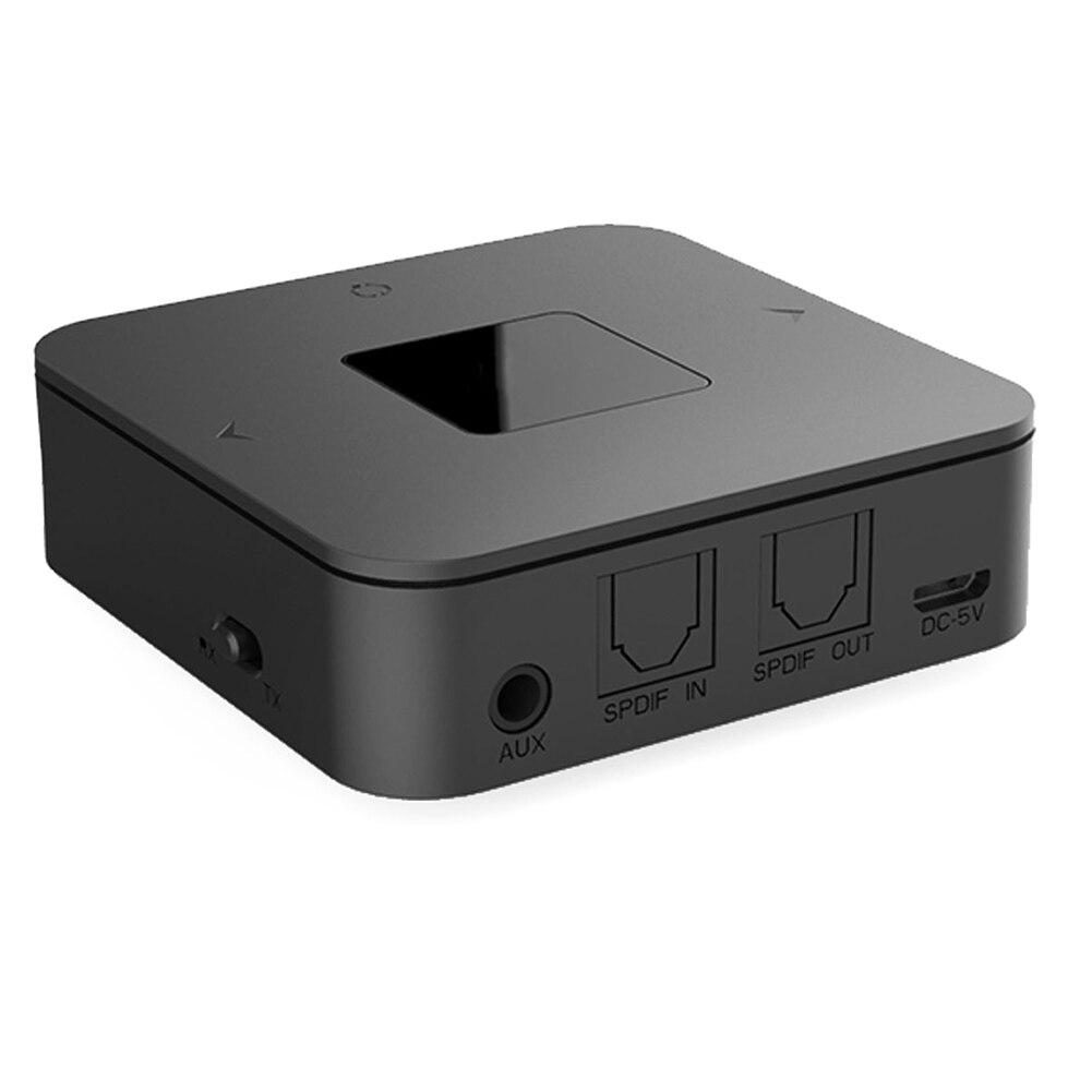 2 en 1 émetteur récepteur Mini stéréo Portable adaptateur Audio faible latence accueil sans fil casque PC TV haut-parleurs Bluetooth 5.0